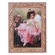 Картина ангел з трояндами 15*20 см