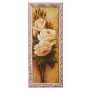 Картина Білі троянди 15*42см