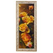 Картина Чайні троянди 15*42см