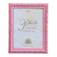 Рамка 15*20 узор рожевий