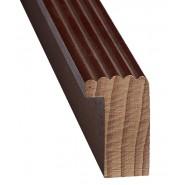 Багетна рама 15*20  №6А шоколад